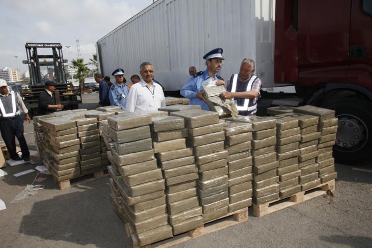عاجل وحصري: إحباط عملية تهريب أربعة أطنان من مخدر