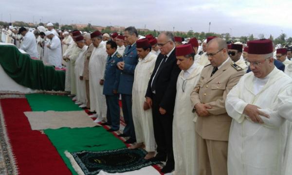 والي جهة مراكش آسفي عبد الفتاح البجيوي يؤدي صلاة عيد الفطر بمصلى سيدي عمارة