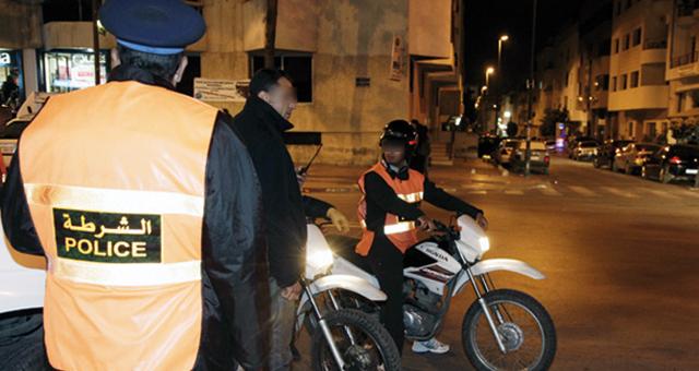 إصابة عنصر أمن الدراجين خلال حملة تمشيط لاعتقال