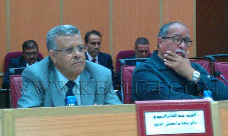 الوالي عبد الفتاح البجيوي يسجل أول حضور له في دورة مجلس جهة مراكش آسفي
