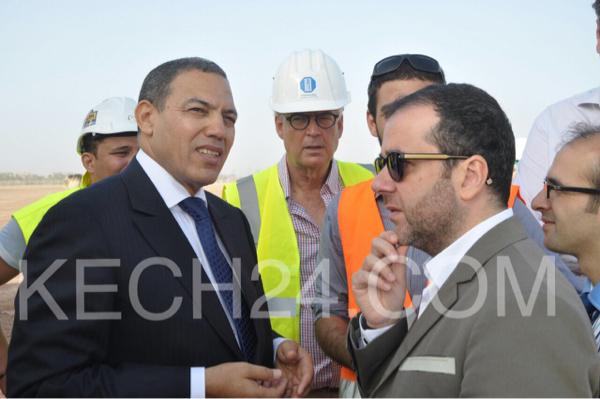 عبد السلام بكرات يطلق أشغال إنشاء قرية المناخ