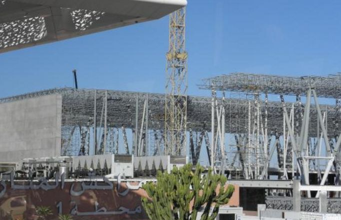 هذ موعد انتهاء الاشغال بورش المحطة الجوية الجديدة لمطار مراكش المنارة