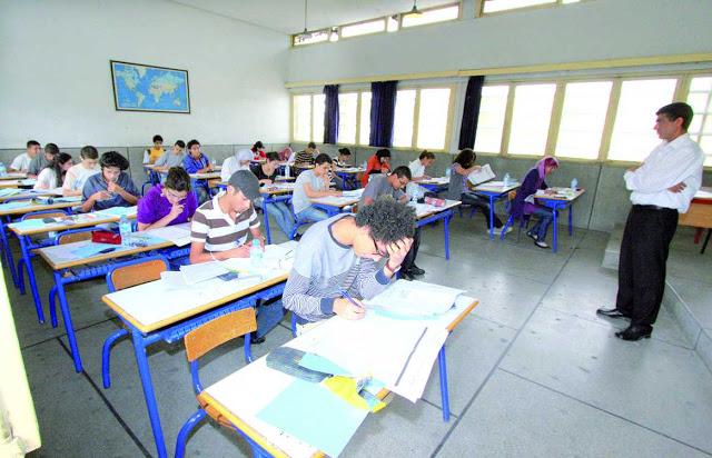 تلاميذ السنة الاولى باكلوريا علوم رياضية دولية بجهة مراكش ضحية نقط كارثية قد تقضي على مستقبلهم التعليمي