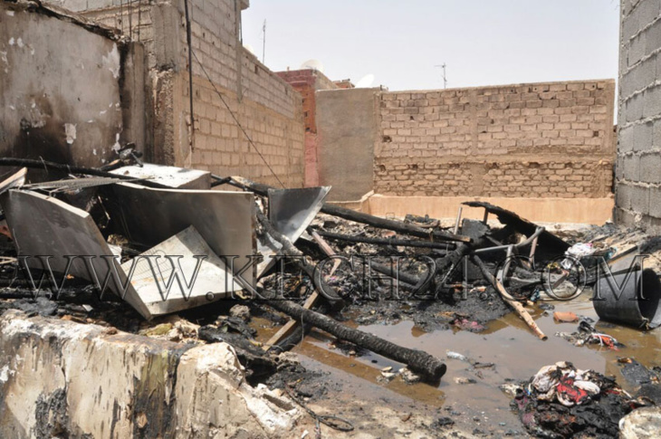 اندلاع حريق بمنزل بسيدي يوب بمراكش والنيران تلتهم المطبخ عن آخره + صور