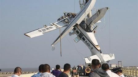 مصرع خمسة أشخاص في حادث اصطدام طائرة برمائية بجسر في شنغهاي
