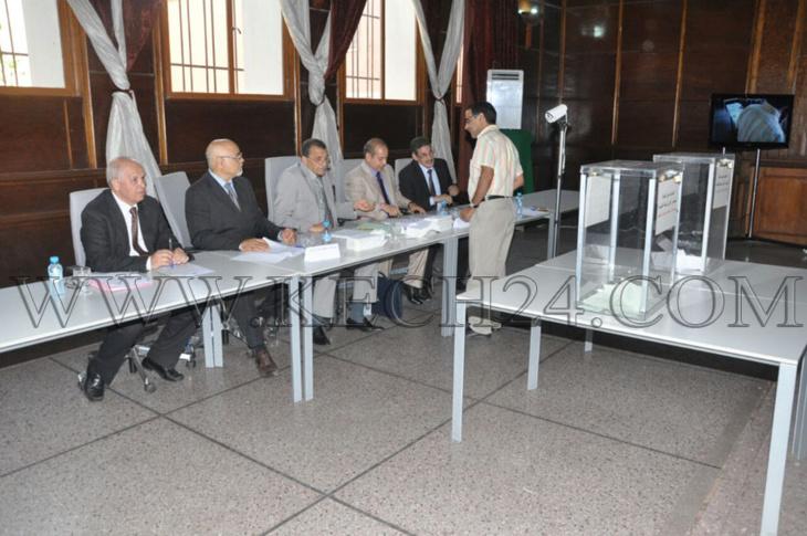 عاجل: انطلاق عملية انتخاب ممثلي القضاة بالمجلس الأعلى بمحكمة الإستئناف بمراكش + صور