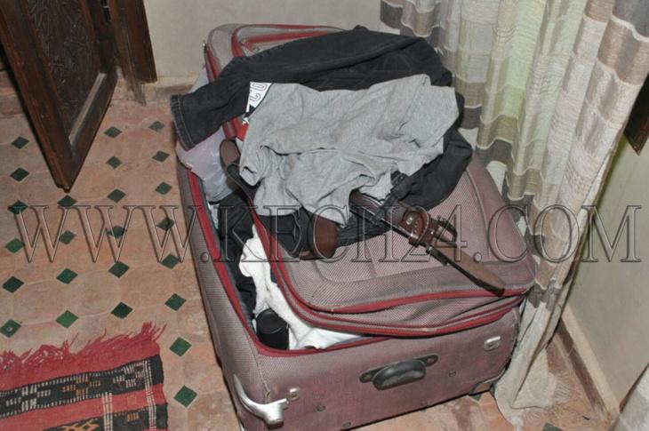 سرقة مبلغ مالي من حقيبة سائحين داخل رياض بالمدينة العتيقة لمراكش + صور