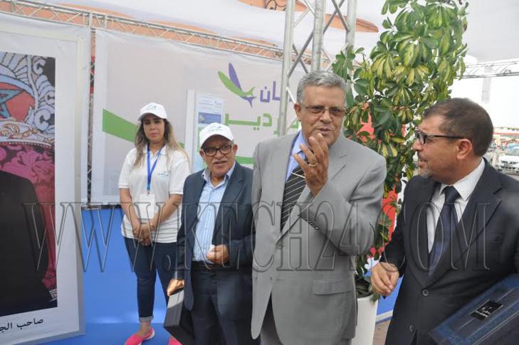والي الجهة يشرف على افتتاح مهرجان السردين بساحة جامع الفنا بمراكش + صور
