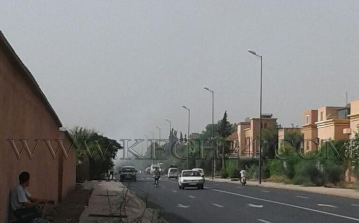 عاجل: اندلاع حريق بحي المسيرة الثالثة بمراكش + صور