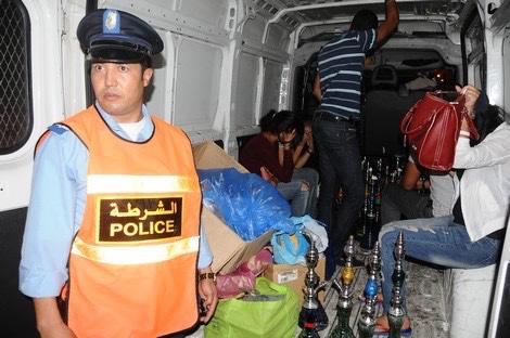 إيقاف 37 شخصا في عملية مداهمة لملهى ليلي بمراكش بعد اعتداء