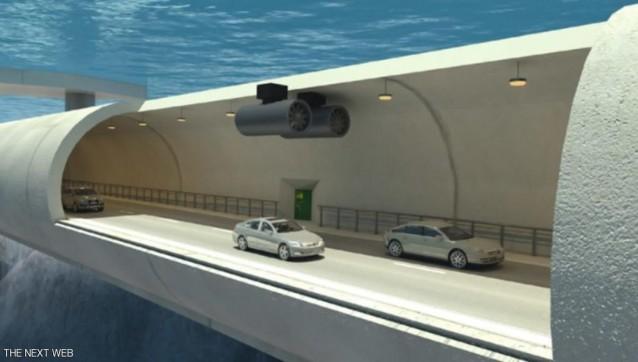 """النرويج تبني أول نفق """"عائم"""" تحت الماء"""