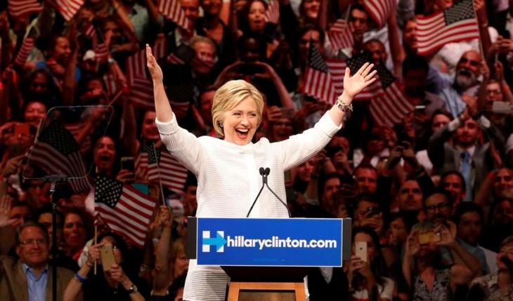 الحزب الديمقراطي يختار رسميا هيلاري كلنتون مرشحته لخوض الانتخابات الرئاسية