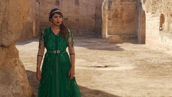 هدى سعد في رحلة من أجل الناقة والجمل