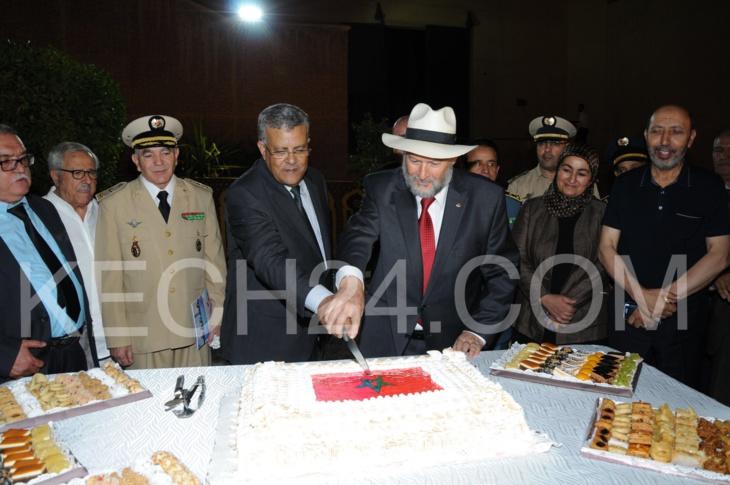 الطائفة اليهودية بمراكش تحتفل بذكرى عيد العرش المجيد + صورة حصرية