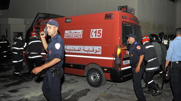 اندلاع النيران بسجن عكاشة وأنباء عن فرار معتقلين