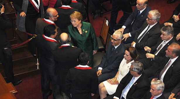 رئيس مجلس النواب يمثل الملك محمد السادس في حفل تنصيب الرئيس البيروفي الجديد