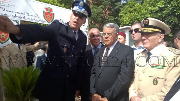 عاجل: والي جهة مراكش آسفي لبجيوي يدشن دائرة أمنية جديدة بحي بوعكاز بالمحاميد