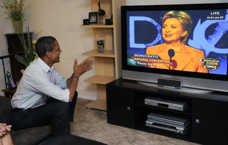 هيلاري كلينتون تقبل رسميا ترشيح الحزب الديموقراطي في لحظة غير مسبوقة في تاريخ الولايات المتحدة