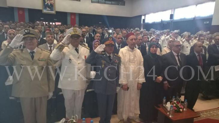 هكذا احتفلت ولاية جهة مراكش آسفي بالذكرى السابعة عشرة لعيد العرش المجيد + صور