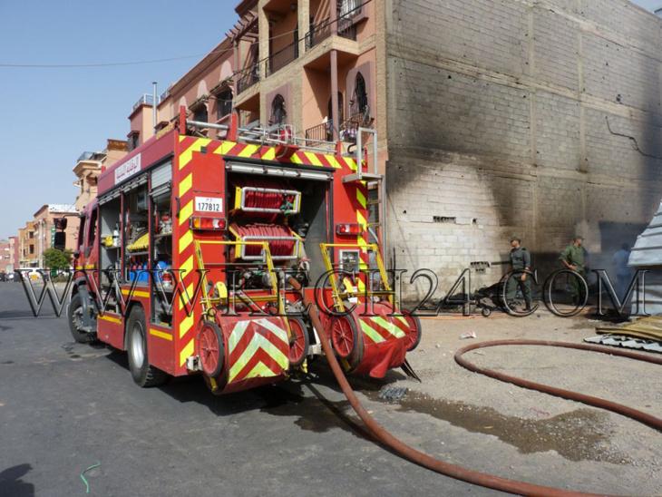 عاجل: اندلاع حريق مهول بمعمل لـ