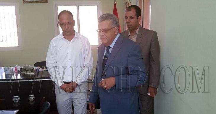 والي جهة مراكش يقوم بزيارة مفاجئة لجماعة المنابهة
