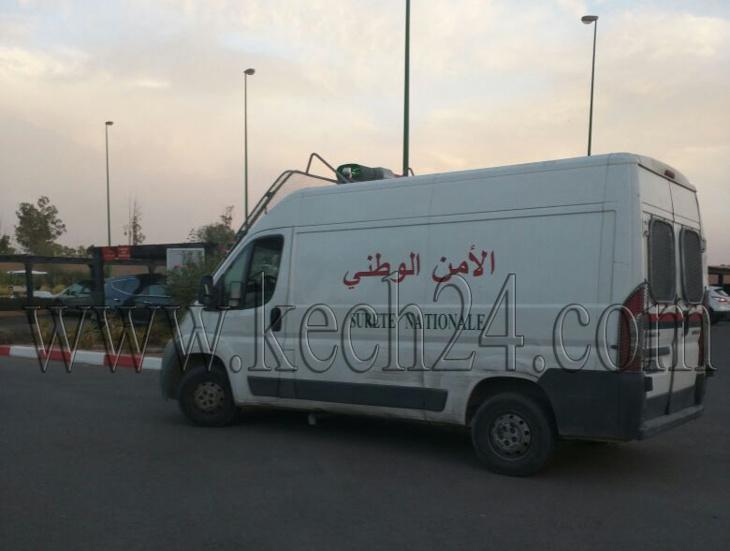 والي جهة مراكش و والي الأمن يدخلان على خط قضية منع منقبة من ولوج فندق بممر النخيل + صورة