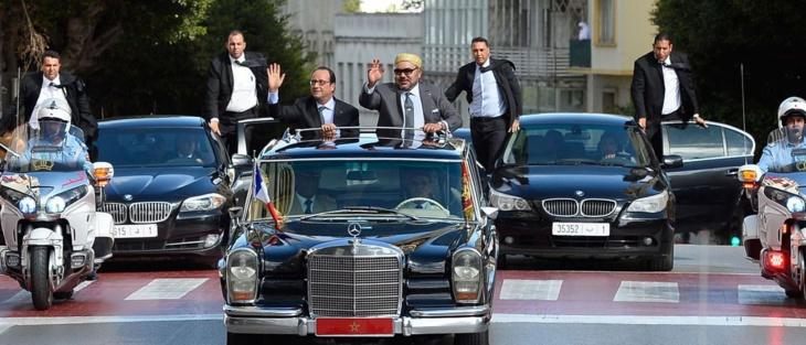 الرئيس الفرنسي يؤكد للملك محمد السادس حضوره لمؤتمر المناخ بمراكش