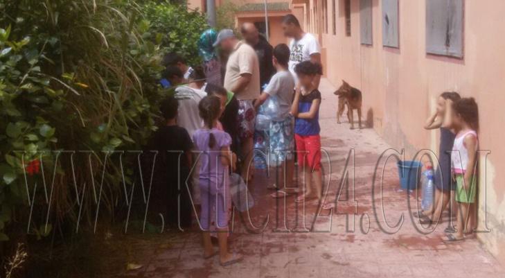 مدينة تامنصورت بدون ماء لازيد من 24 ساعة وسط غليان لدى الساكنة