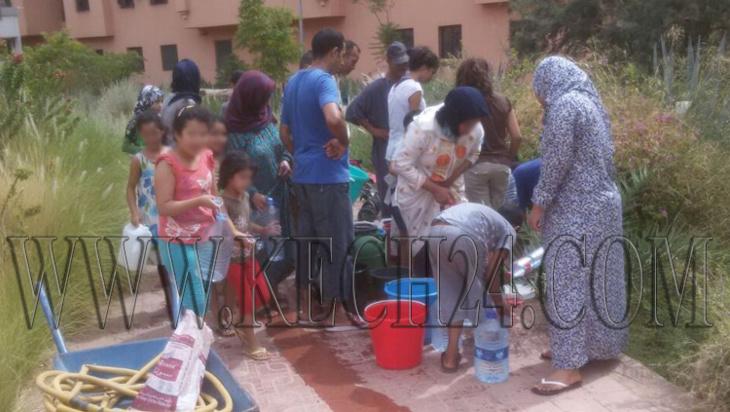 حقوقيون يدخلون على الخط بعد حرمان سكان مدينة تامنصورت من الماء مند يومين