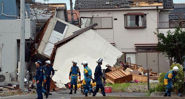 ارتفاع حصيلة ضحايا إعصار يونروك في اليابان
