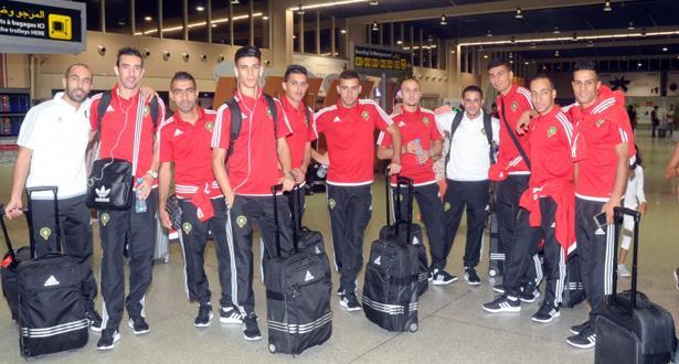 المنتخب الوطني لكرة القدم داخل القاعة يتوجه إلى كولومبيا