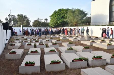 افتتاح مقبرة لضحايا الأحداث الاجتماعية لـ 20 يونيو 1981