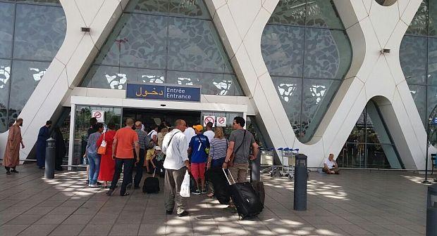 الرفع من درجة اليقظة بمطار مراكش المنارة عشية عيد الأضحى