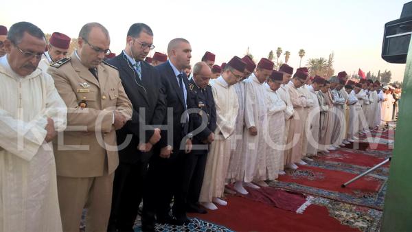 والي جهة مراكش آسفي عبد الفتاح البجيوي يؤدي صلاة عيد الاضحى بمصلى سيدي عمارة