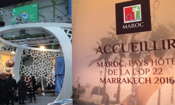 رواق مغربي في ليون الفرنسية يعرف بأهداف مؤتمر المناخ بمراكش وسياسة المملكة بيئيا