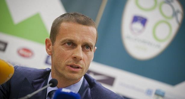 السلوفيني تشيفرين رئيسا للاتحاد الأوروبي لكرة القدم