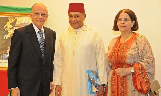 توشيح سفير المملكة ببرازيليا بوسام الصليب الأعظم