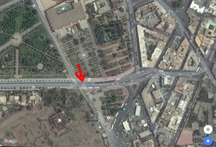 سكوب : غضبة ملكية بسبب إغلاق الطريق المؤدية إلى الإقامة بسيدي ميمون بمراكش + صور