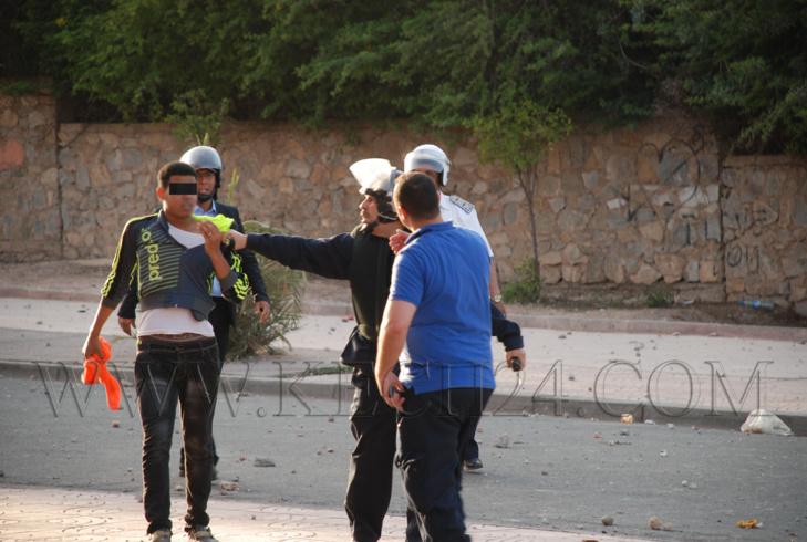 إعتقال طالب جديد على خلفية أحداث 19 ماي بالحي الجامعي بمراكش
