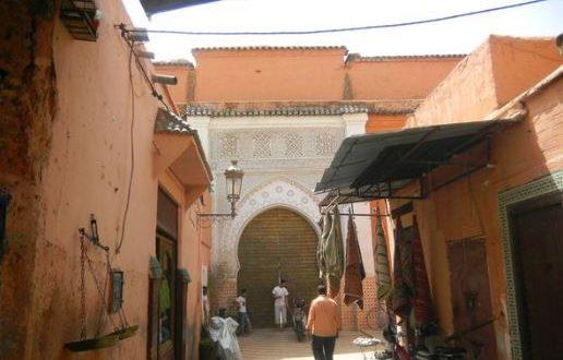 حقيقة بيع منبر مسجد المواسين لسياح أجانب بمراكش