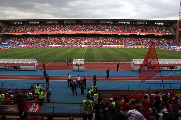 ملعب مراكش يجمع المغرب بموريتانيا من خلال مبارتين