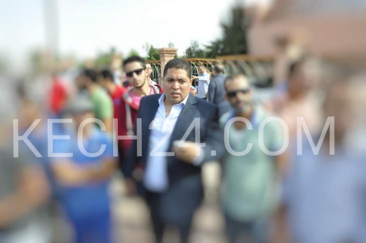 المغاري يضع ترشيحه رسميا كوكيل للائحة الحمامة بدائرة مراكش المدينة و
