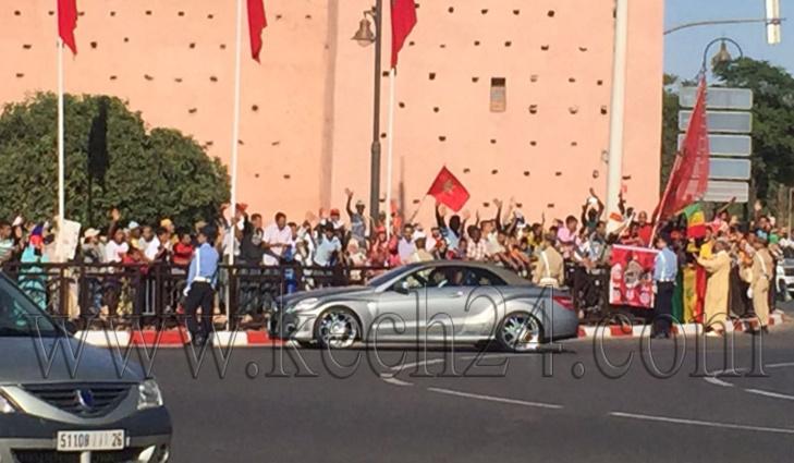 عاجل المفاجأة الكبرى: الملك محمد السادس يغادر مدينة مراكش