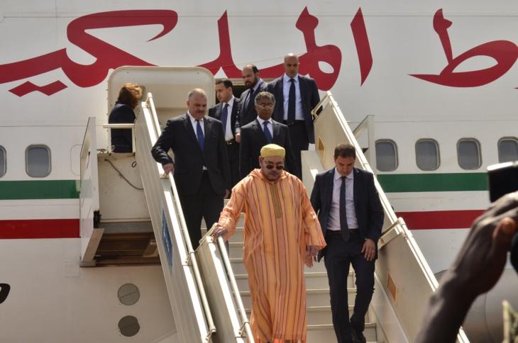 الملك محمد السادس يغادر مراكش في اتجاه مدن الشمال