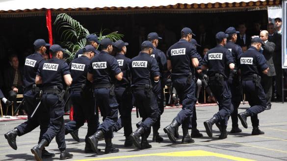 رجال الامن المكلفون بحماية ضيوف قمة مراكش يتدربون على إطلاق النار
