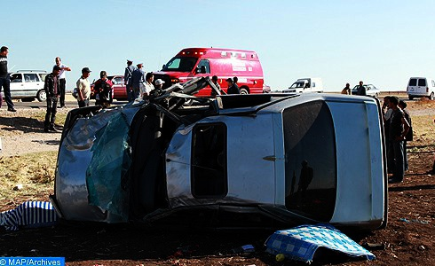 مصرع طفلة وإصابة 5 آخرين في حادثة سير خطيرة نواحي شيشاوة