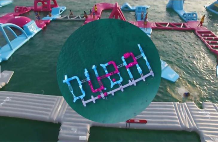 افتتاح أكبر حديقة مائية عائمة في العالم بدبي