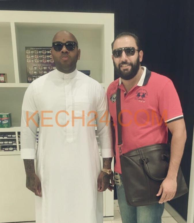 بعد أدائه مناسك الحج مغني الراب الامريكي في زيارة خاصة لمراكش