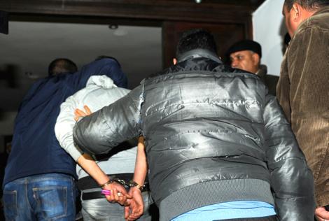 توقيف أربعة أشخاص يشتبه في تورطهم في ارتكاب سرقات بالعنف والاتجار في المخدرات