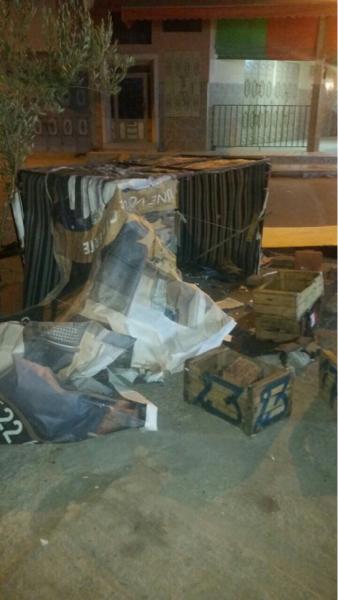 عاجل : مجرم يرفع سيفاً على رئيس الدائرة 10 لمحاميد بمراكش